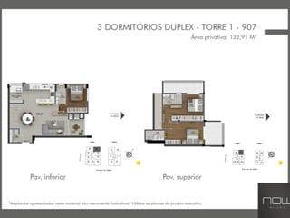 Foto do Apartamento Duplex-Duplex com 3 dormitórios à venda, 132 m² Estreito - Florianópolis/SC