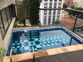 Foto do Apartamento Duplex-Venda Pinheiros - Cobertura Duplex - 166 m2 com 3 vagas - Piscina e Churrasqueira!!!