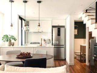 Foto do Apartamento Duplex-Apartamento Duplex com 2 suítes, 2 vagas à venda, 85 m²  - Alto de Pinheiros - São Paulo/SP