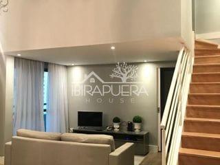 Foto do Apartamento Duplex-Apartamento Duplex com 2 dormitórios à venda, 100 m² por R$ 1.400.000,00 - Brooklin - São Paulo/SP