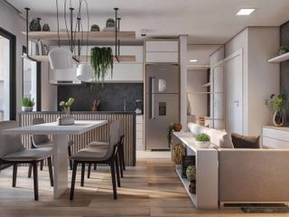 Foto do Apartamento Duplex-Duplex à venda 2 Quartos, 1 Vaga, 64.4M², Tingui, Curitiba - PR   Hope City Habitat