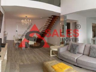 Foto do Apartamento Duplex-Apartamento Duplex 3 vagas / 2 dormitórios / 2 suítes à venda e para locação, Cidade Monções, São Paulo, SP Agende visita!!