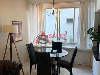 Foto do Apartamento Duplex-Apartamento Duplex  1 dormitórios, 1 vaga, mobília para  venda por R$ 520.000 na estação  Brooklin Paulista, São Paulo, SP