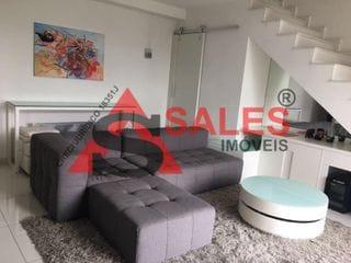 Foto do Apartamento Duplex-Apartamento Duplex com 1 suíte à venda, 78 m² por R$ 1.200.000,00 Localizado na Rua Silva Correia - Vila Nova Conceição, São Paulo, SP