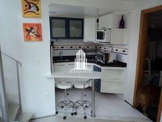 Foto do Apartamento Duplex-Flat duplex mobiliado 1 vaga de garagem à venda no Itaim Bibi