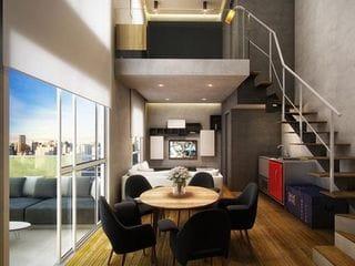 Foto do Apartamento Duplex-Apartamento Duplex à venda, 70 m² por R$ 986.128,68 - Perdizes - São Paulo/SP