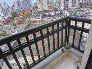 Foto do Apartamento-Apartamento com 1 dormitório à venda, 50 m² por R$ 200.000 - Caiçara - Praia Grande/SP