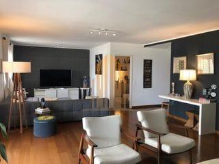 Foto do Apartamento-Apartamento com 3 suites e living ampliado com deposito individual, 202m2 com 4 vagas Condomínio Ereditá Centro Empresarial Tamboré