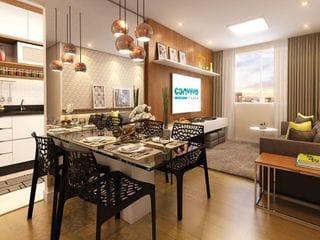 Foto do Apartamento-Apartamento 2 Dorms com até 2 Subsídios de desconto pelos Governos Federa e Estadual  à venda, Chácara Jaguari (Fazendinha), Santana de Parnaíba, SP