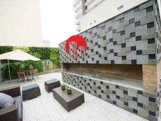 Foto do Apartamento-Apartamento para Venda em São Paulo, Campo Belo, 1 dormitório, 2 banheiros, 2 vagas