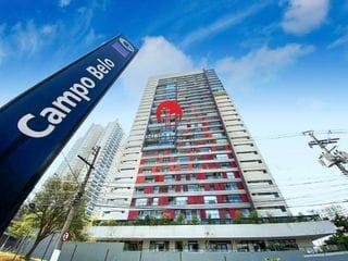 Foto do Apartamento-Apartamento para Venda em São Paulo, Campo Belo, 1 dormitório, 1 banheiro, 1 vaga