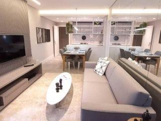 Foto do Apartamento-Apartamento Vivance Batel Centro 92m² 3 Quartos 1 Suíte Visconde de Guarapuava Shopping Curitiba