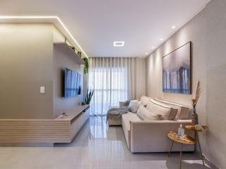 Foto do Apartamento-Apartamento impecável e decorado à venda, 2 dormitórios com suíte, próximo ao Hotel Golden Blue, Vila Ipiranga, Londrina.