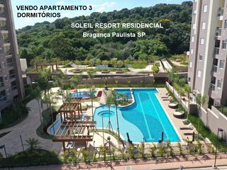 Foto do Apartamento-Vendo Apartamento Novo, Pronto, SOLEIL, Bragança Paulista SP 3 Dormitórios