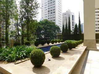 Foto do Apartamento-Apartamento com planta excepcional, 4 suítes, 4 vagas de garagem, a venda no bairro Batel, em Curitiba, Paraná.