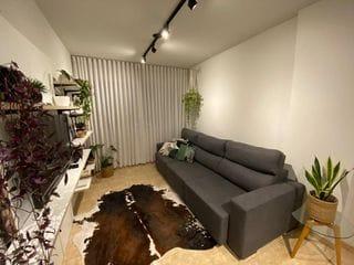 Foto do Apartamento-Lindo apartamento, Zona 03 de Maringá, FINAMENTE decorado e projetado. 1 suíte mais 1 quarto, 72m². Localização privilegiada!