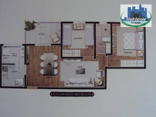 Foto do Apartamento-Apartamento residencial à venda, Gopoúva, Guarulhos.