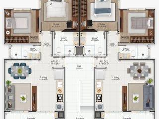 Foto do Apartamento-Apartamento à venda, Fazenda, Itajaí, SC