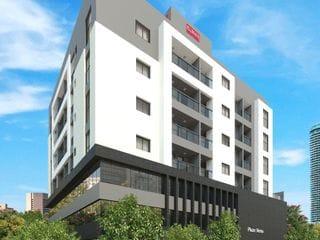 Foto do Apartamento-Apartamento em construção Rua Israel ao lado da upa Bairro das Nações Edifício Plaza Viena