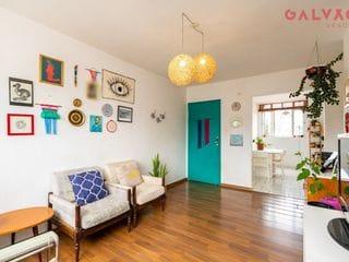 Foto do Apartamento-Apartamento com 3 dormitórios, sala ampla, 1 vaga, 92 m² privativos, à venda por R$ 350.000,00,  no Água Verde próximo do Hiper Condor, Curitiba, PR