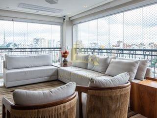 Foto do Apartamento-Apartamento à venda  C/ 266m² 4 Dormitórios 4 Suítes e 5 Vagas MOBILIADO - Perdizes - São Paulo, SP  R$ 5.498.000,00