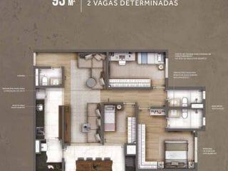 Foto do Apartamento-Cyrela - Living Grand Wish - 93m2