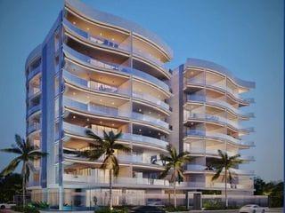 Foto do Apartamento-Lançamento, Apartamento à Venda com 4 Suítes na Praia da Bacutia Guarapari-ES