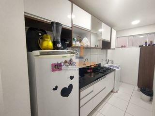 Foto do Apartamento-Apartamento térreo com garden de  2 quartos sendo 1 suíte  , moveis planejados em todos os ambientes, condomínio fechado com infraestrutura completa de lazer