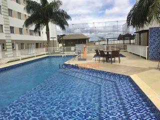 Foto do Apartamento-Apartamento 2 quartos sendo 1 suíte em cond. fechado com portaria 24 horas e infraestrutura de lazer com piscina, academia, quadra futebol em frente a UESB