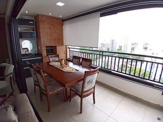 Foto do Apartamento-Apartamento TOTALMENTE MOBILIADO, Zona 03, 99m², 1 suíte mais 2 quartos, lavabo, 2 vagas PARALELAS, de FRENTE.