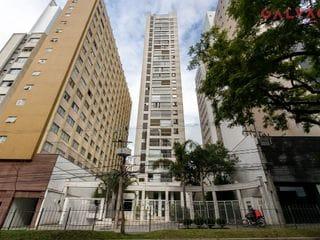 Foto do Apartamento-Excelente apartamento com 1 quarto, semimobiliado, sala com sacada, 1 vaga, andar alto, espaço coworking, próximo do Shopping Curitiba, no Centro, Curitiba, PR
