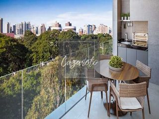 Foto do Apartamento-Apartamento a venda com 03 dormitórios sendo os  3 suítes, Varanda com churrasqueira, espera para ar condicionado,  vagas de garagem,  no Batel