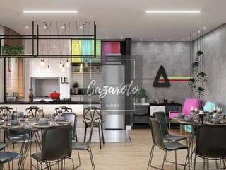 Foto do Apartamento-Apartamento Novo a Venda   02  Suites, sacada com churrasqueira a carvao no  Bacacheri.