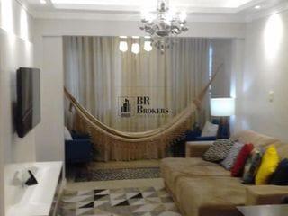 Foto do Apartamento-Apartamento lindamente mobiliado com 1 dormitório