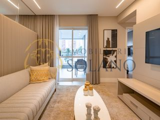 Foto do Apartamento-Apartamento no Batel com 96m², 3 Dormitórios, 1 Suíte, Sacada com Churrasqueira e 1 vaga prox ao Shopping Curitiba