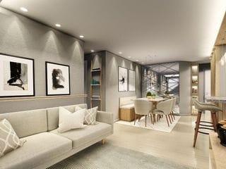 Foto do Apartamento-Apartamento à venda 3 Quartos, 1 Suite, 1 Vaga, 78.16M², Capão Raso, Curitiba - PR   Mazza Capão Raso