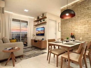 Foto do Apartamento-Apartamento à venda 2 Quartos, 1 Vaga, 49.33M², Jardim Galetto, Itatiba - SP | Colinas Novitá - Fase 1