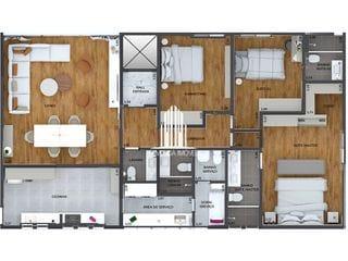 Foto do Apartamento-MELHOR DOS JARDINS - 145 m2 - REVENDA IMÓVEL