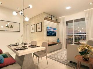 Foto do Apartamento-Apartamento à venda 3 Quartos, 1 Vaga, 60.92M², Jardim Galetto, Itatiba - SP | Colinas Novitá - Fase 1