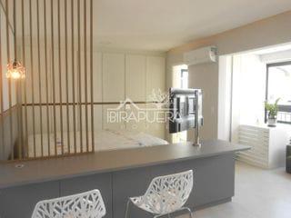 Foto do Apartamento-Apartamentos mobiliados e equipados com 1 suíte