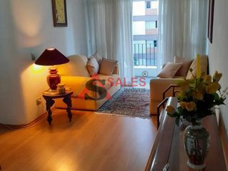 Foto do Apartamento-Apartamento a venda no Campo Belo, com 75 metros, 3 dormitórios, suíte e 1 vaga de garagem.