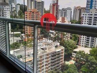 Foto do Apartamento-Apartamento para Venda em São Paulo, PANAMBY, 1 dormitório, 1 banheiro, 1 vaga