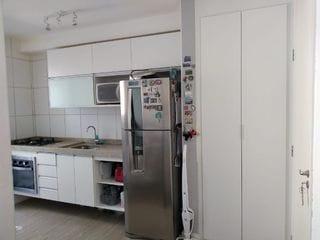 Foto do Apartamento-Lindo apartamento com 2 dts, cozinha planejada com cooktop, forno embutido, condominio com lazer completo. Churrasqueira com forno de Pizza, brinquedoteca, sala