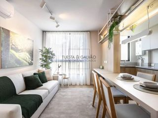Foto do Apartamento-Apartamento de 2 quartos, sem suíte, uma vaga de garagem, perto do Shopping Palladium, no bairro Portão, em Curitiba, Paraná.