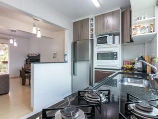 Foto do Apartamento-Apartamento com 3 quartos sendo uma suíte, 1 vaga de garagem coberta, sacada com churrasqueira a carvão,  à venda, Portão, Curitiba, PR