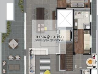 Foto do Apartamento-Cobertura a venda no bairro Água Verde, 3 suítes, 3 vagas garagem, a venda em Curitiba, Paraná.