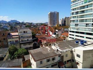 Foto do Apartamento-Apartamento à venda de 1 quarto, 1 vaga de garagem na com vista para o mar na Prainha de Muquiçaba, Guarapari, ES