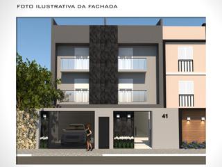 Foto do Apartamento-Apartamento em prédio sem condomínio à venda, Vila Guiomar, Santo André, SP 2 quartos com suíte 1 vaga