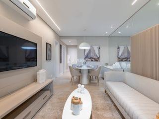 Foto do Apartamento-Apartamento pronto para morar na região do Batel, possui 3 quartos, sendo 1 suíte, sala de estar e jantar e sacada com churrasqueira.    Excelente localização,