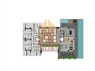 Foto do Apartamento-Apartamento à venda com 85m² com 3 dormitórios (sendo 1 suíte) e 1 vaga de garagem, localizado em pinheiros zona sul de São Paulo - SP